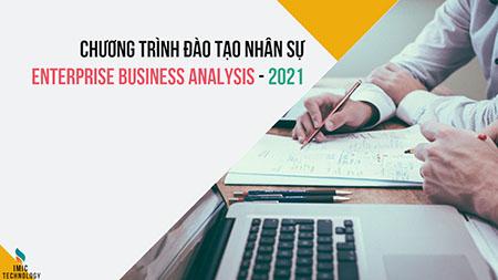 Khóa đào tạo nhân sự Enterprise Business Analysis - 2021